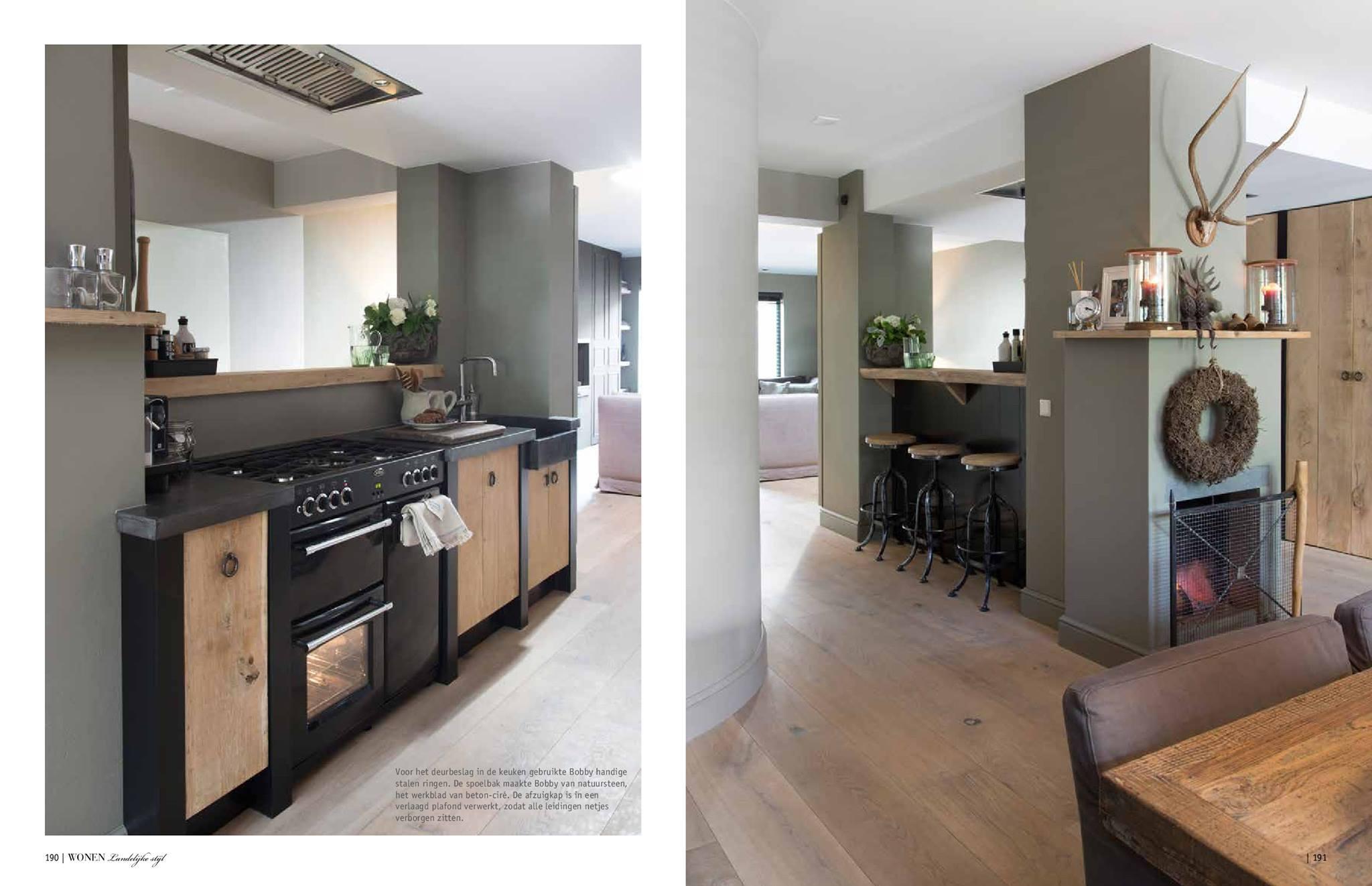 Landelijke meubels fauteuils 20 images vik s eetkamerstoel zwart stof met eiken onderstel - Landelijke badkamer meubels ...