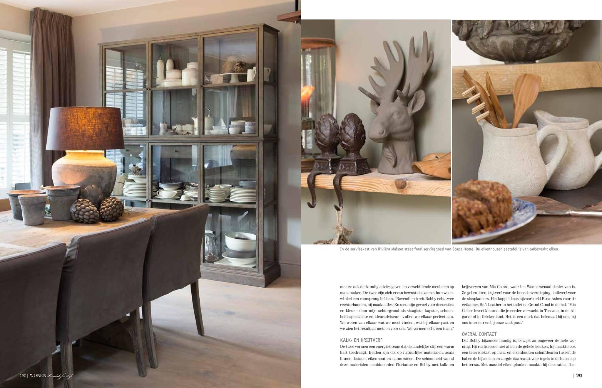 Top tijdschrift landelijk wonen qwf68 agneswamu for Wonen landelijke stijl decoreren